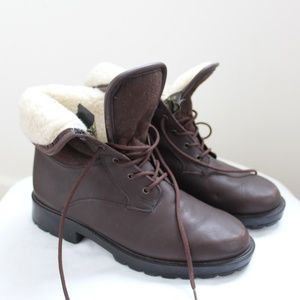 Canadian-made waterproof wool lined boots